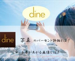 Dine(ダイン) 写真 パーセント評価 マッチ率